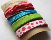Ribbon and Trim Collection in Gumdrop (4 yards)