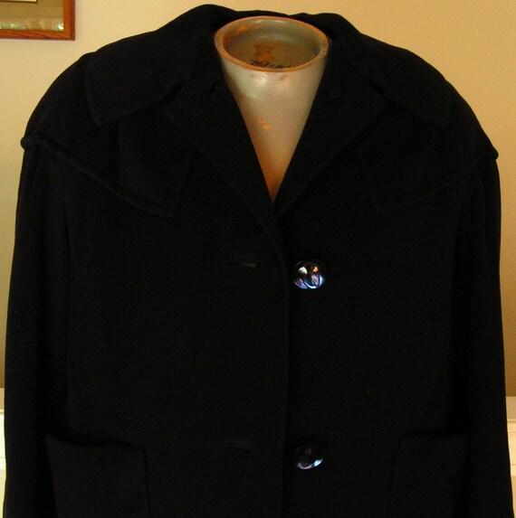 oviatt's coat womens medium mens small blue los angeles beverly hills trench long wool oviatts