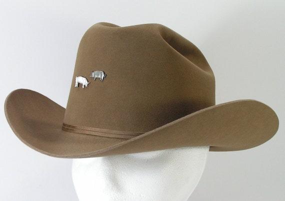 resistol cowboy hat mens size 7 1/8 western canyon tan xx beaver felt
