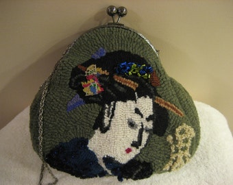 Geisha hooked purse