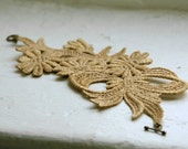 Lace Bracelet - Damita Cuff in Gold