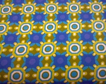 Just Reduced -Michael Miller Ground Cover - Blue 1/2 yd