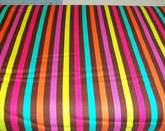 Just Reduced -Michael Miller candy stripe - 1 yard