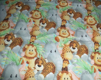 Baby Animal Fabric - 1 yard