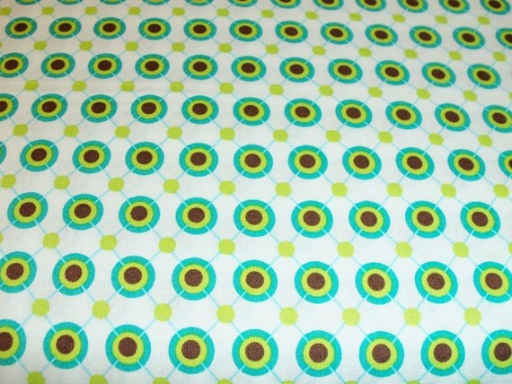 Just Reduced -Michael Miller Large Ditto Dots 1/2 yard