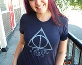 SALE!!  Greater Good shirt.  American Apparel fitted sizes small, large, or extra large.