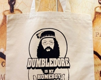 SALE!!  Homeboy parody tote bag in NATURAL