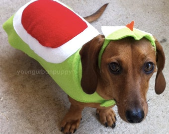 Yoshi from Nintendo Dog Costume