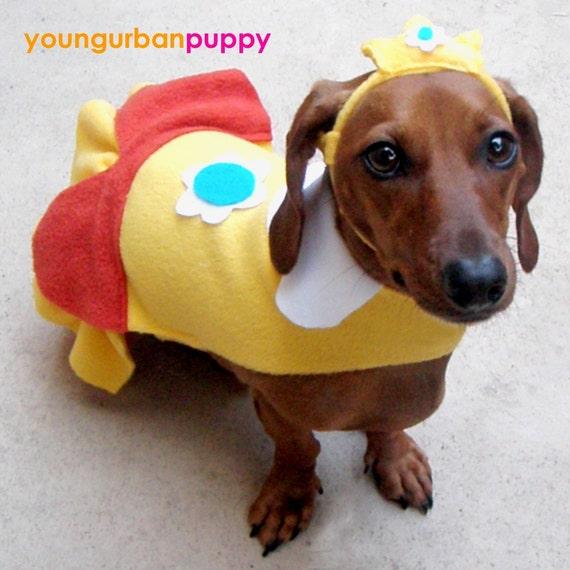 PRINCESS DAISY NINTENDO Costume for Dogs