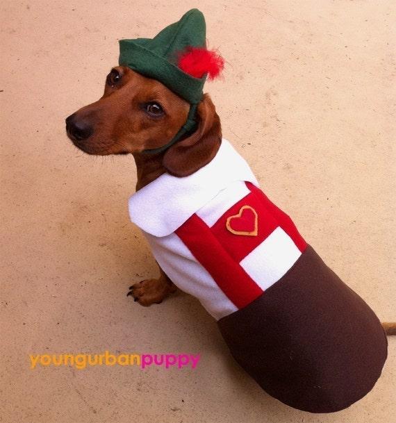 Hans Oktoberfest Lederhosen Dog Costume