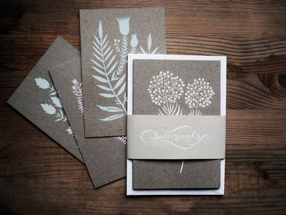 Botanical Postcard Set