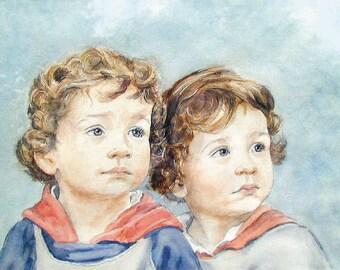 Custom Portrait Painting - Child, Adult