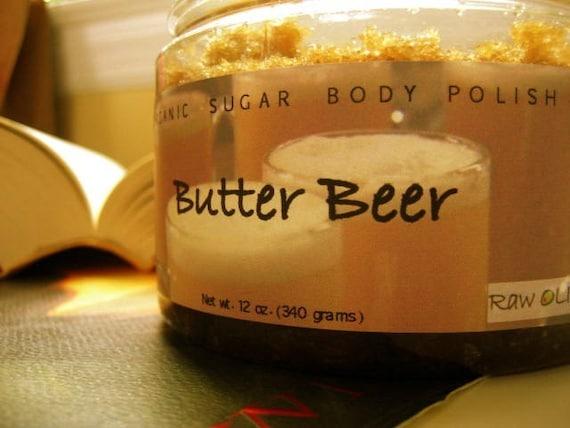Butterbeer Organic Sugar Scrub