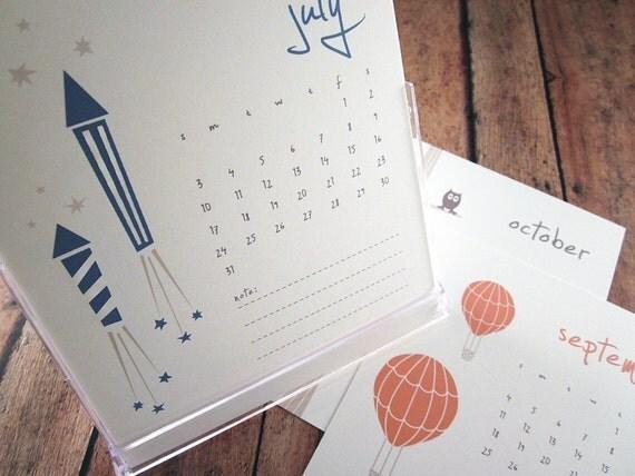 2014 Desk Calendar with Display Case