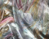Silkart on request. Pegasus or unicorn or . . .  Custom made magic hand painted silk scarf, VIP service. I will design three scarves for you