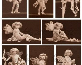Instant Download Keeper Of Hearts Valentine Vintage Postcard Digitale Collage Sheet