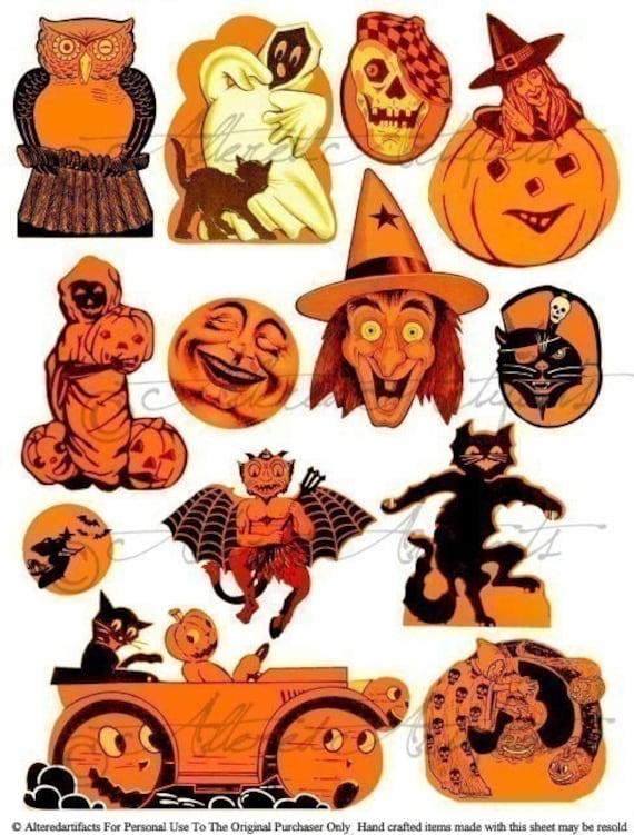 halloween clip art vintage - photo #42
