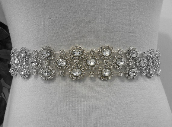 Crystal Grace  -Bridal or special occasion CRYSTAL  SASH