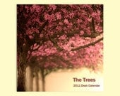 2011 Mini Calendar - The perfect stocking stuffer for your favorite art lover - doubles as affordable home decor - under 5 dollars  - The Trees (4x6)