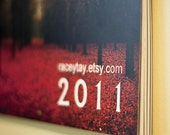 2011 Calendar - Wall hanging, coil bound, flip calendar - 12 months, each page 8.5x11inches