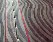 Modern Venice Print, gray black white red wall decor- stripes, geometric abstract modern vintage photography