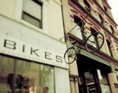 Bicycle Photography, Beige, Brown, Bike Print, Neutral, Bicycle Shop, Bikes Sign, For Cyclists, Men, Travel Photography