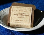 Sheep's Milk Castile Soap (Amber Spice) 4 Bars