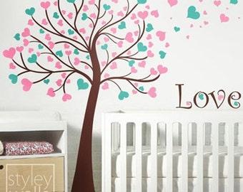 Love Tree - Nursery Wall Decal
