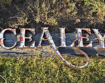 CEALEY - Little Cowgirl Wall Letters