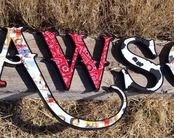 DAWSON - Multi-print Name Wall Letters