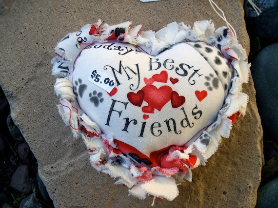 Heart Squeak Toy (Matches Valentine Quilt Listed in this shop)