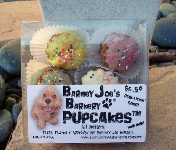 SALE: Delicious, All Natural, Gingerbread Pupcakes for Dogs