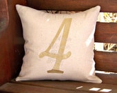 Family Number Pillow