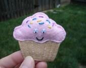Clarissa Cupcake, Felt, Plush, Magnet