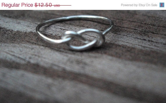 6 rings, RESERVEd,  Never ending knot ring, love knot, celtic knot, ring, jewelry,