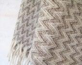 Top Drawer Blanket/ZIGZAG/Pure Virgin Wool