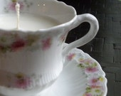 Soy Wax Vanilla-Scented Teacup Candle