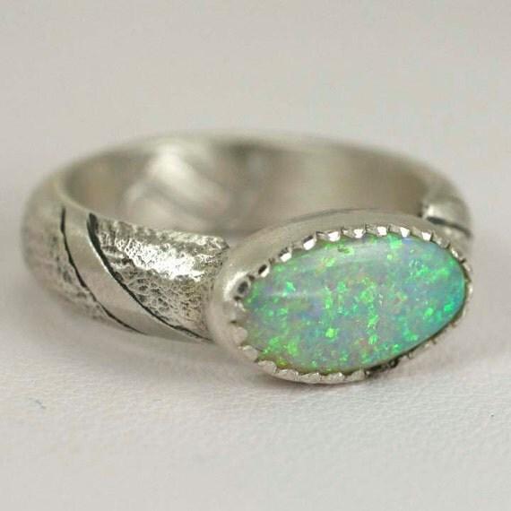 Sandcastle Opal Ring