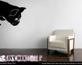 French Bulldog Sniff - Vinyl Wall Decal