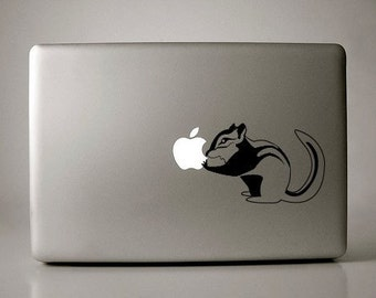 Chipmunk Decal Apple Macbook Laptop