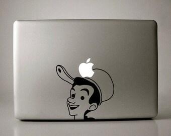 Johnny Appleseed Decal Macbook Apple Laptop