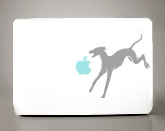 Greyhound Decal Apple Macbook Laptop