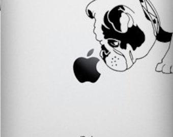 Brit The English Bulldog Decal for iPad 1 or iPad 2