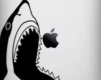 Shark Decal for iPad 1 or iPad 2