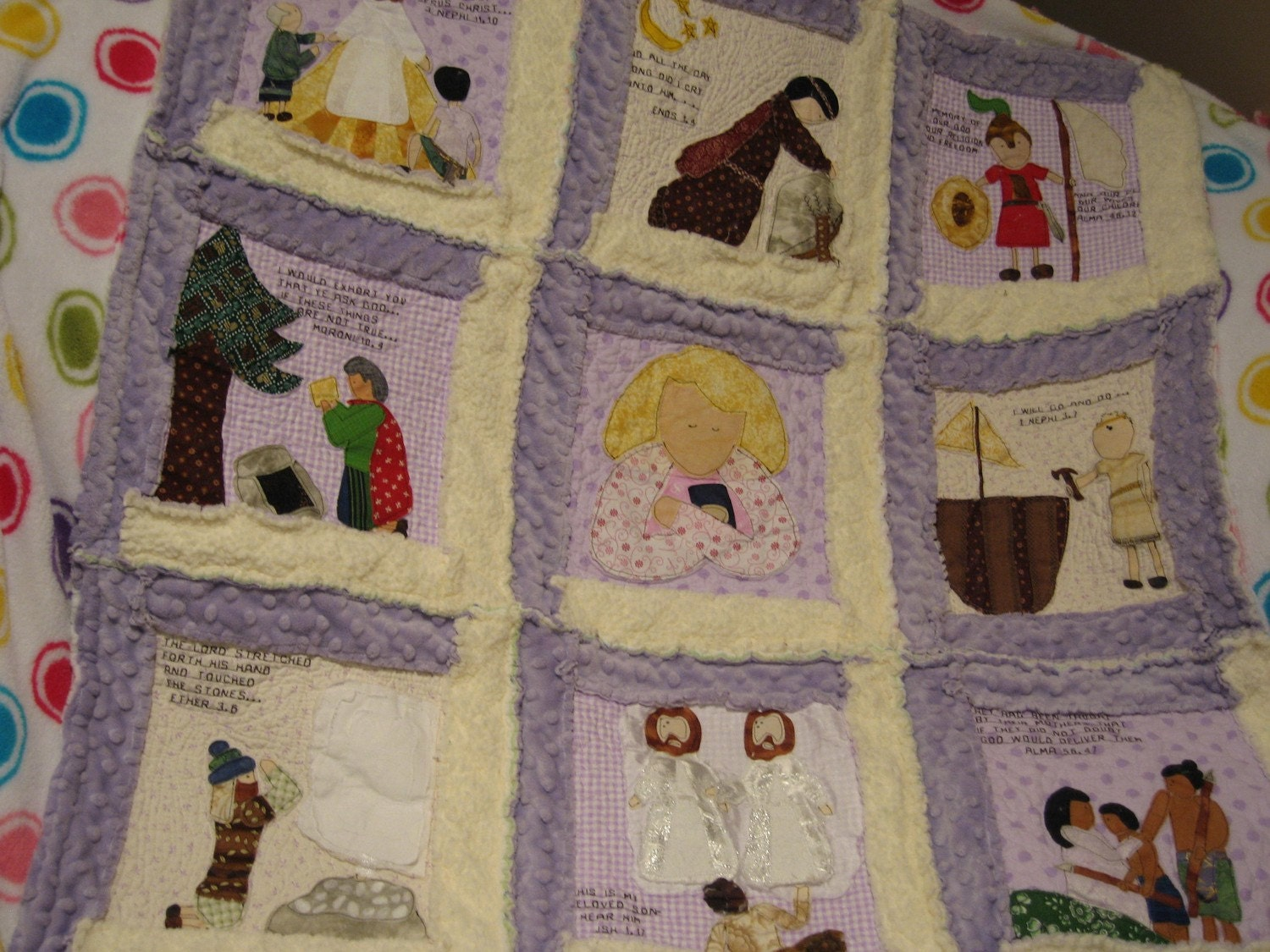 Pattern Book Of Mormon Scripture Quilt By Quiltedharmonies