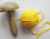 PIF Vintage Wooden Mushroom on Etsy