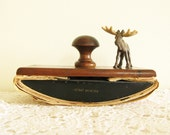 Reserved Antique Wooden Office Decor for Drying Ink From Fountain Pens