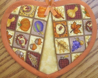 All Things Thanksgiving Potholders - Set of 2