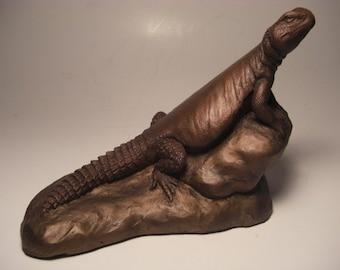 Moroccan Uromastyx Lizard Sculpture