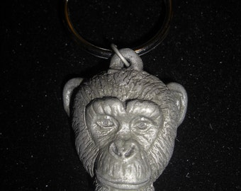 Chimpanzee Key Chain